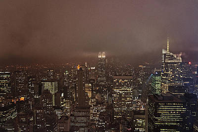 Rainy Manhattan Poster