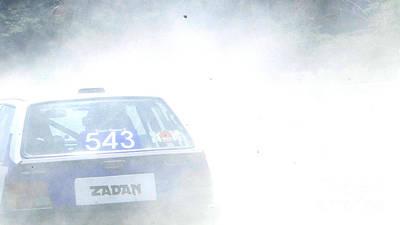 Rally Racing Poster