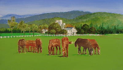 Ranch Poster by Cliff Spohn