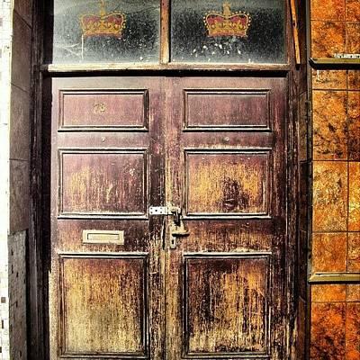 Random Door In Liverpool Streets Poster