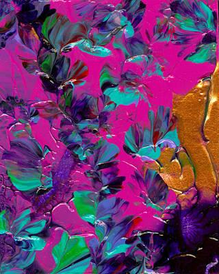Razberry Ocean Of Butterflies Poster