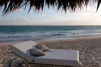 Poster featuring the photograph Ready To Relax On A Tropical Beach by Karen Lee Ensley
