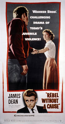 Rebel Without A Cause, James Dean Poster