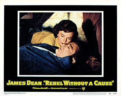 Rebel Without A Cause, Natalie Wood Poster by Everett