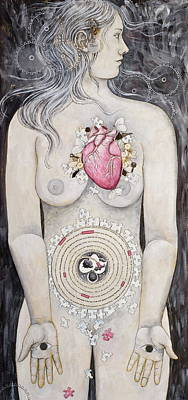Rebirth Of Venus Poster by Sheri Howe