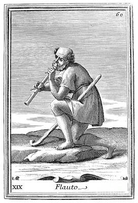 Recorder, 1723 Poster by Granger