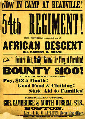 Recruiting Poster, 1863 Poster