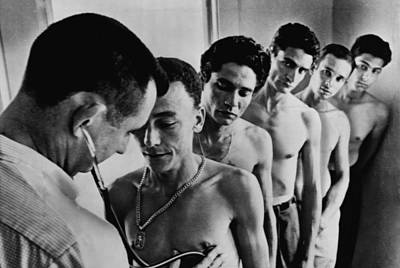 Recruits For The Bay Of Pigs Invasion Poster