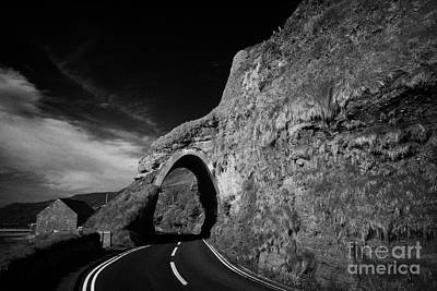 Red Bay Arch County Antrim Coast Road Coastal Route Northern Ireland Poster by Joe Fox