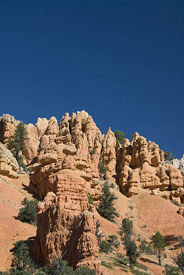 Red Canyon Rocks Poster by Gloria & Richard Maschmeyer