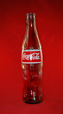 Red Coke Poster by Skip Willits