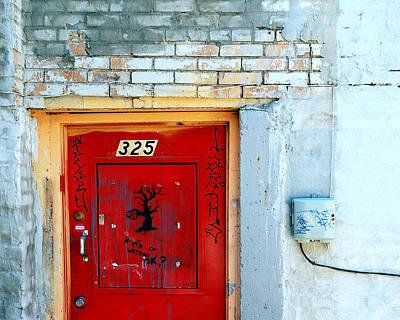 Red Door 325  Poster by Steven Milner