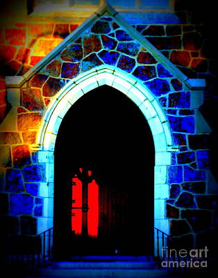 Red Door Church Poster