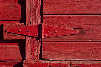 Red Door Henge Poster by Garry Gay