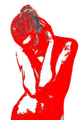 Red Drama Poster
