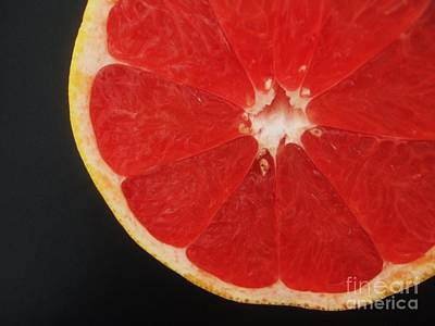 Red Grapefruit Poster by Jasna Gopic