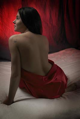 Red Iv Poster by Rick Berk
