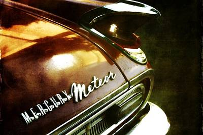 Red Mercury Meteor Poster by Cathie Tyler