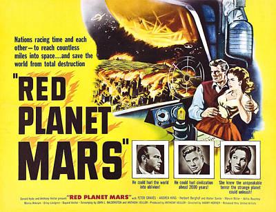 Red Planet Mars, Herbert Berghof, Peter Poster