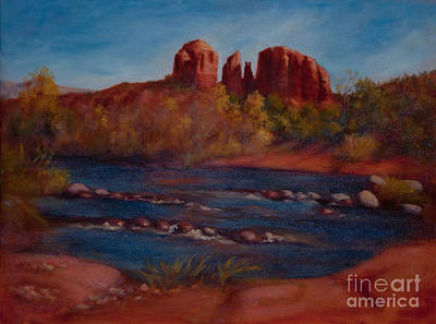 Red Rocks Of Sedona Poster by Ruth Ann Sturgill