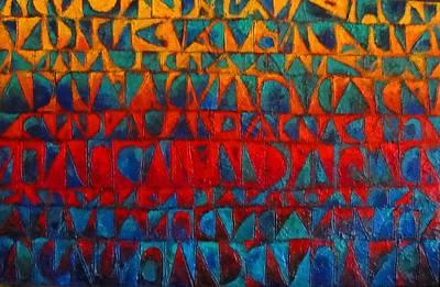 Red Sails At Sunset II Poster by Bernard Goodman