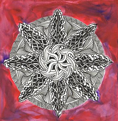 Red Zendala Poster