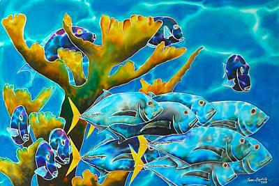 Reef Fish Poster by Daniel Jean-Baptiste