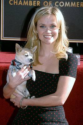 Reese Witherspoon At The Induction Poster by Everett