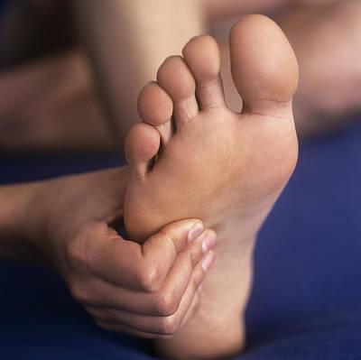 Reflexology Massage Poster