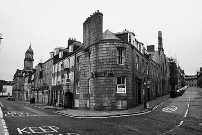 Regent Quay And Marischal Street Aberdeen Scotland Uk Poster by Joe Fox