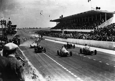 Reims Grand Prix Poster by Keystone