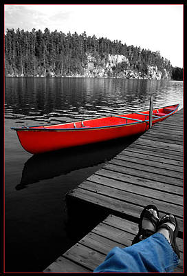 Poster featuring the photograph Relax by Brian Duram
