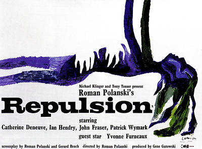Repulsion, Poster, 1965 Poster by Everett