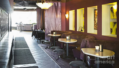 Restaurant Bar Seating Poster by Andersen Ross