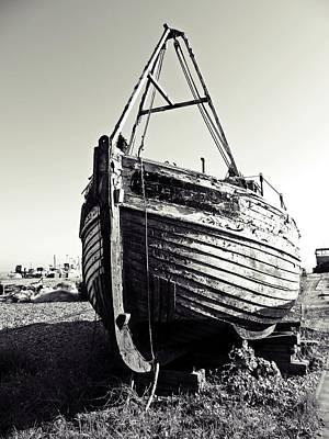 Retired Fishing Boat Poster
