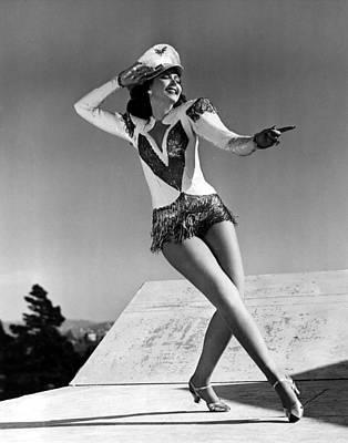 Reveille With Beverly, Ann Miller, 1943 Poster by Everett