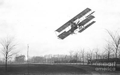 Rex Smith Biplane 1912 Poster by Padre Art