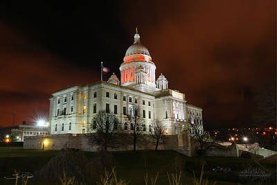 Rhode Island Capital Building Poster