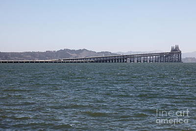 Richmond-san Rafael Bridge In California - 5d18457 Poster by Wingsdomain Art and Photography