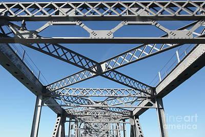 Richmond-san Rafael Bridge In California - 5d19542 Poster by Wingsdomain Art and Photography