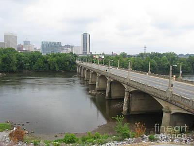 Richmond. Virginia. 2008 N01 Poster by Ausra Huntington nee Paulauskaite