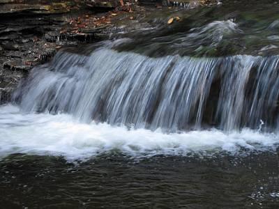 Ricketts Glen Waterfall 4082 Poster by David Dehner