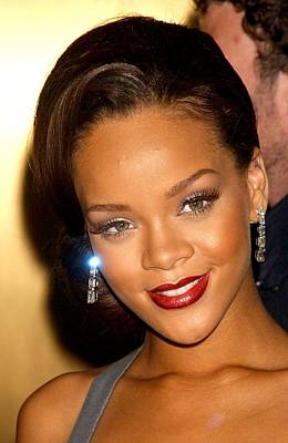 Rihanna At Arrivals For Fashion Rocks Poster