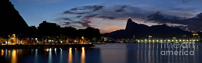 Rio Skyline From Urca Poster