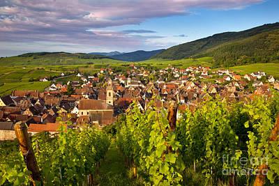 Riquewihr Alsace Poster