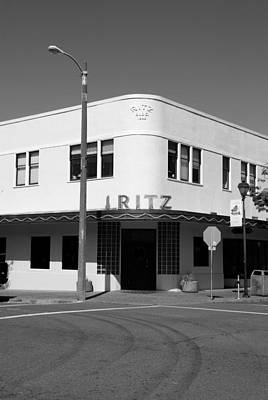 Ritz Building Eureka Ca Poster by Kathleen Grace