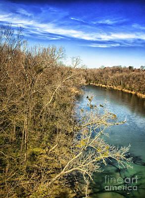 River Crossing Virginia Poster by Jim Moore