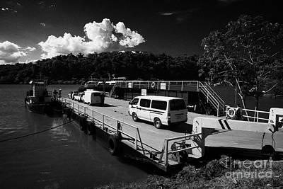 River Iguazu Ferry Crossing From Argentina To Paraguay Puerto Iguazu Argentina Poster by Joe Fox