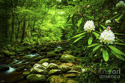 Roaring Fork Rhododendron Poster