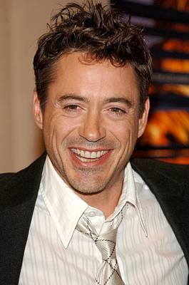 Robert Downey Jr. At Arrivals For A Poster